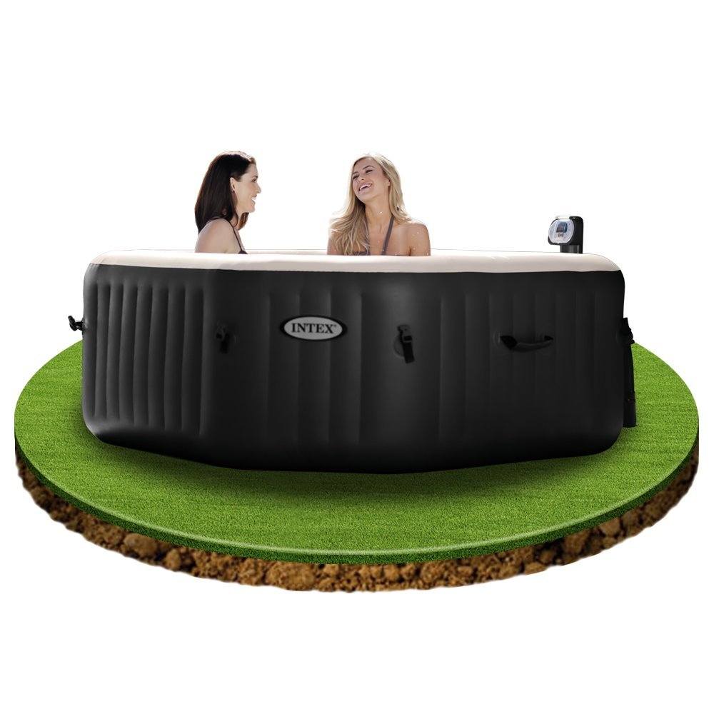 whirlpool aufblasbar intex 28454 pure spa 79 zoll im test. Black Bedroom Furniture Sets. Home Design Ideas