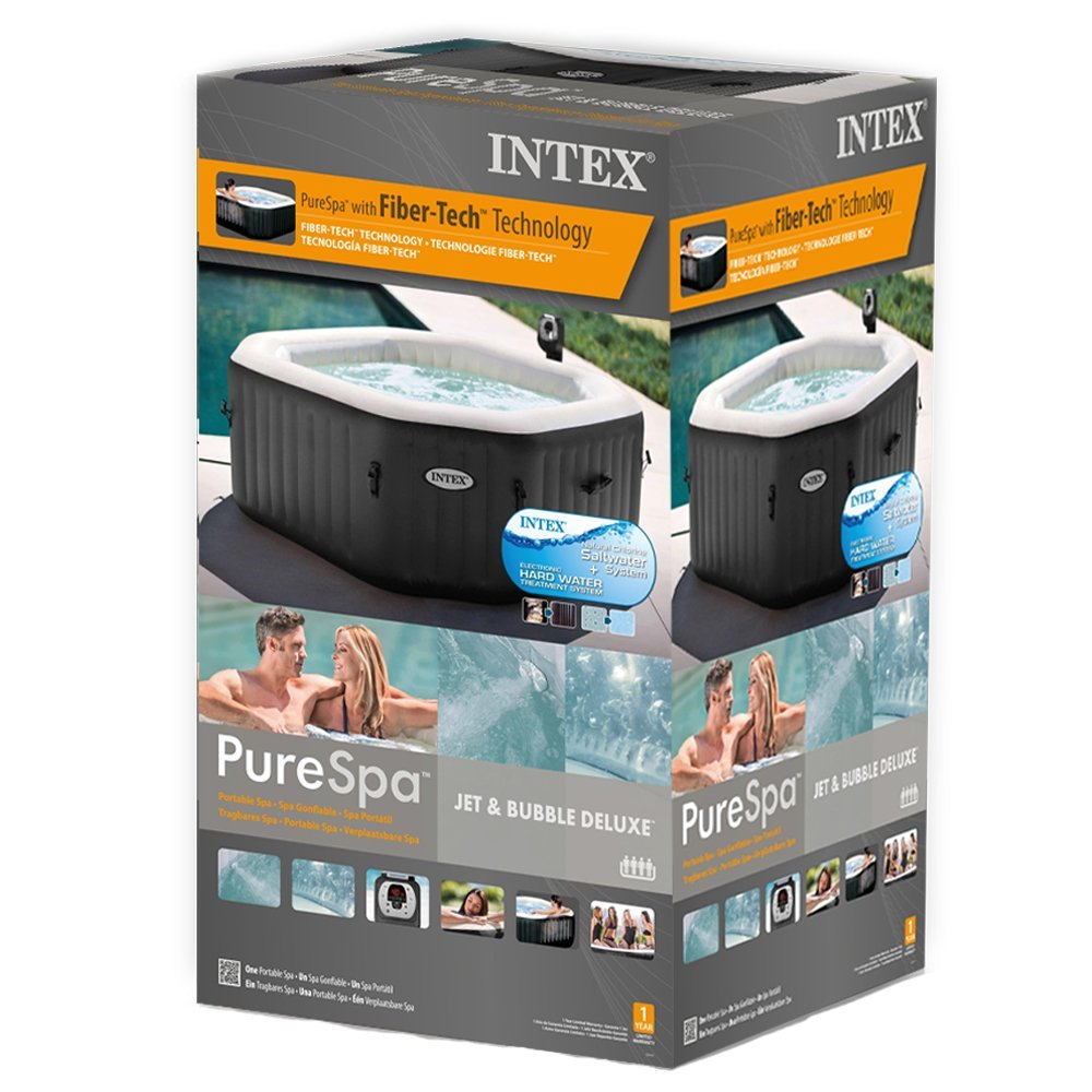 intex 28454 pure spa 79 zoll octagon whirlpool. Black Bedroom Furniture Sets. Home Design Ideas