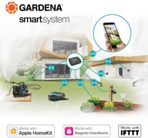 Gardena smarte Bewässerung Grafik