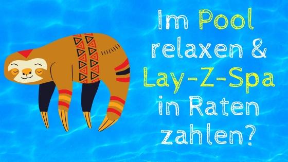 Lay Z Spa Whirlpool in Raten zahlen