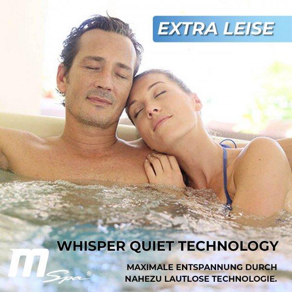 Extra leise aufblasbarer Whirlpool MSpa