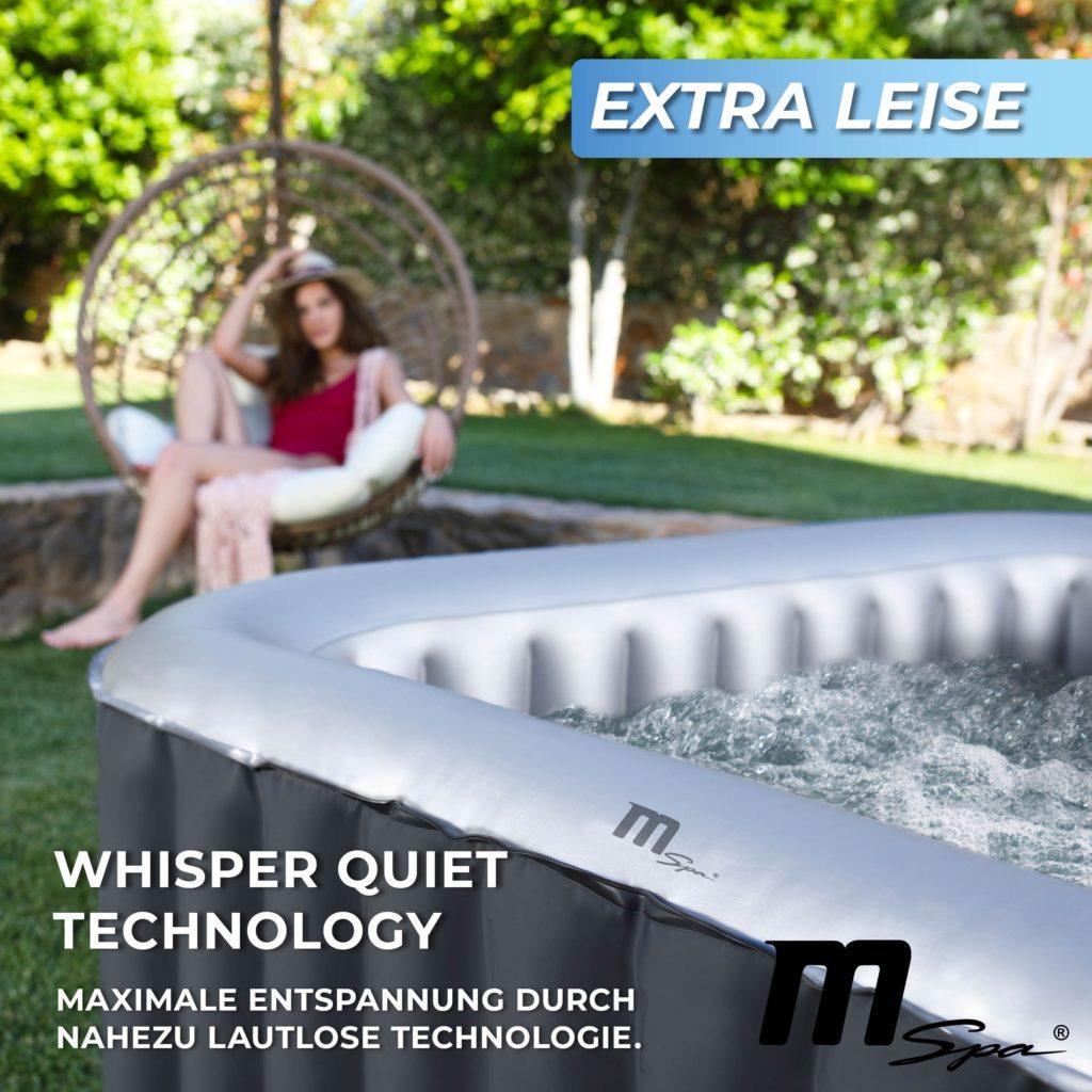 Extra leiser Whirlpool