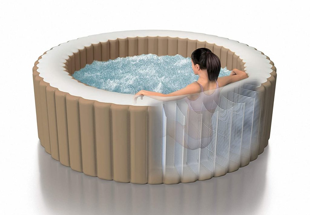 intex pure spa bubble massage 4 Personen