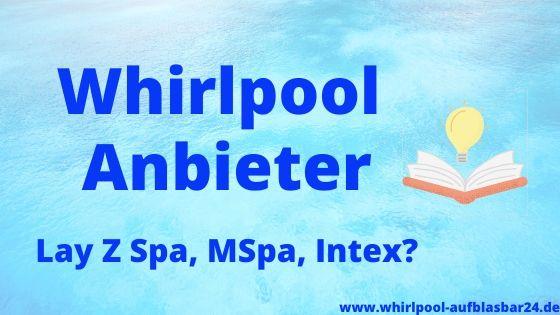 Outdoor Whirlpool Hersteller
