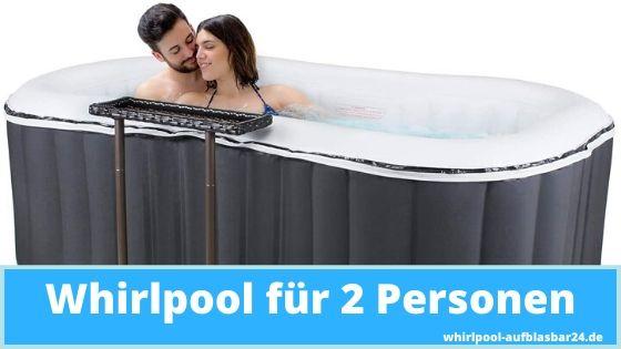 Whirlpool für 2 Personen