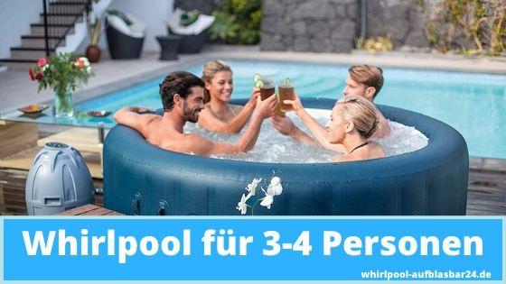 Whirlpool für 3-4 Personen