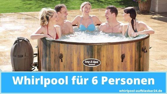 Whirlpool für 6 Personen