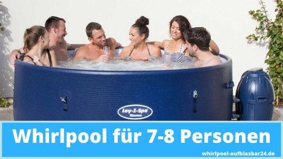 Whirlpool für 7-8 Personen
