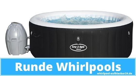 Whirlpool rund für Outdoor und Garten