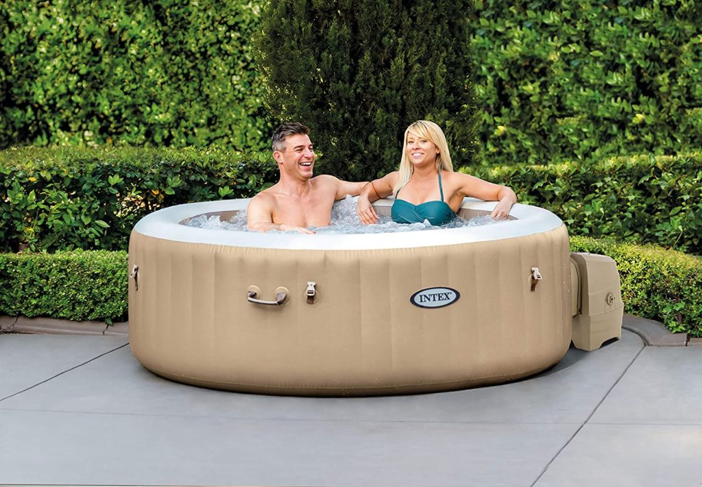 intex pure spa bubble massage 6 Personen