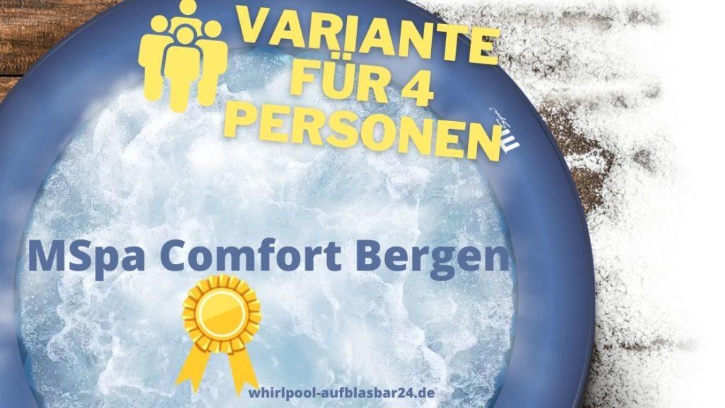 Comfort Bergen 4 Personen Beitragsfoto