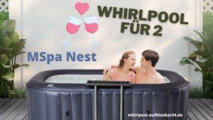 MSpa Nest Whirlpool für 2 Beitragsfoto