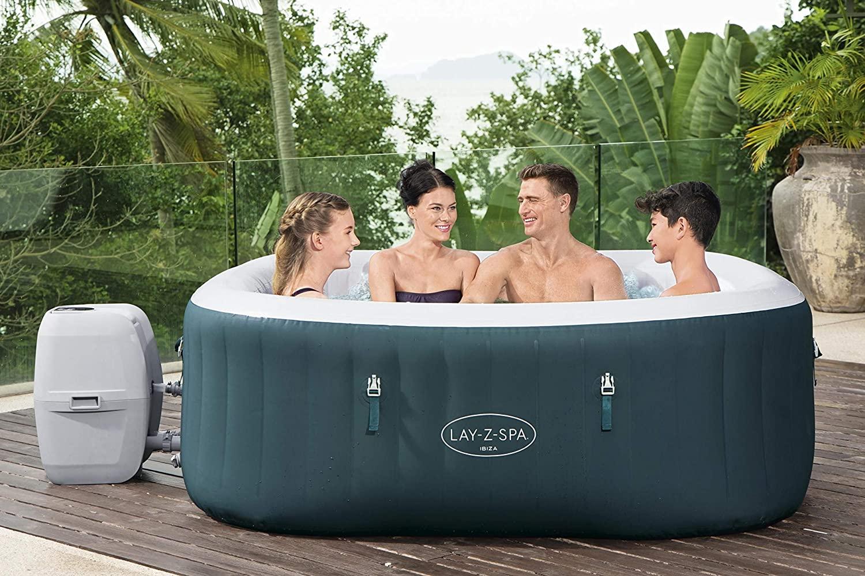 Bestway LAY-Z-SPA Ibiza Pool 2021 eckig