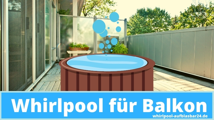 Whirlpool für den Balkon Beitragsbild