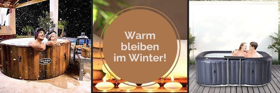 Winterfeste Outdoor Whirlpools